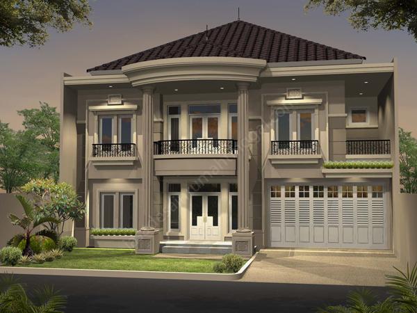 rumah minimalis mewah 2 lantai terbaru